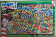 Where's Wally ~ The Jurassic Games ~ 100 Piece Jigsaw Puzzle