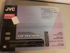 NEW JVC DR-MV150B DVD VCR Combo Recorder Player NTSC and ATSC Tuner HDMI Output