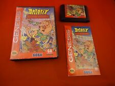 Asterix and the Great Rescue (Sega Genesis, 1994) COMPLETE w/ Box manual game