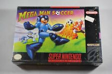 Mega Man Soccer (Super Nintendo SNES) NEW Factory Sealed #B Near Mint