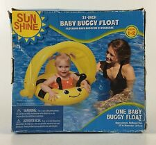 """NIP My Sun Shine Baby Buggy Float Swimming Pool Water Sports 25"""" Ages 1-2"""