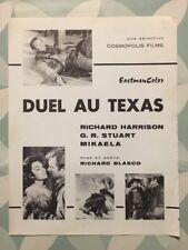 DUEL AU TEXAS avec Richard HARRISON MIKAELA GR STUART - Synopsis