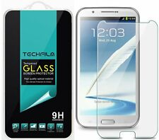 TechFilm® Tempered Glass Screen Protector Saver Shield For Samsung Galaxy Note 2