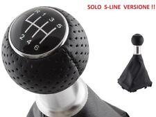 AUDI A4 (SOLO S-Line !! ) B6 00-04  B7 04-08 POMELLO LEVA SIRINGA CAMBIO 6+R