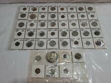 Coin Collection Of 48 Rare World Coins Vintage Antique