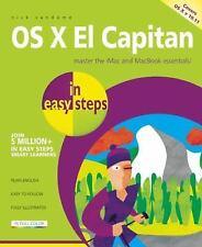 OS X El Capitan in Easy Steps (Paperback or Softback)