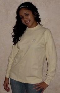Miami Dolphins Sweatshirt Ladies Large Long Sleeve Reebok NFL Shirt Womens