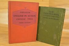 Vintage Hardcover Books Lot Of 4 Everyday Problems In Science English In Action