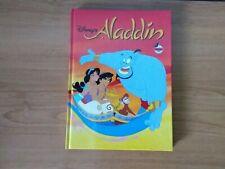 Disney's Aladdin 1992 Hard Cover Book vintage
