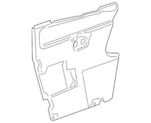 Genuine GM Water Deflector 25966589