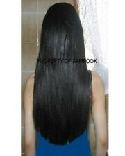 """I-Tip Pre-Bonded Extensions Finest European Remy Hair 100 Strands 22"""" Color #1"""