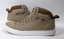 VANS Alomar (T&L) Khaki/White Hi Skate Shoes Mens 12