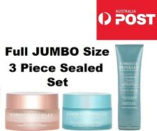 Christie Brinkley Recapature 360 3 Piece JUMBO SIZE SET Day & Night Cream Polish