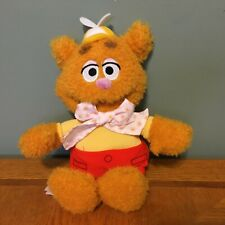 "Disney Store Muppets Babies Fozzie Bear 13"" Sesame Street Plush Doll Jim Henson"