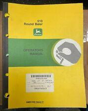 John Deere 510 Round Baler Operator Manual Ome61920 E1 P 7