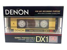 DENON dx1 90 Blank AUDIO MUSICASSETTA NEW RARE 1987 year made