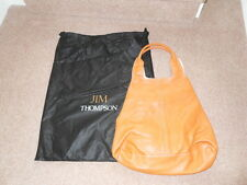 Gorgeous Orange Leather Bag from Jim Thompson. Brand New