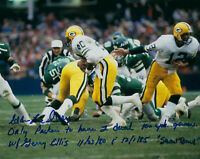 PACKERS Eddie Lee Ivery signed STAT photo 8x10 2x 100 yards AUTO Autographed