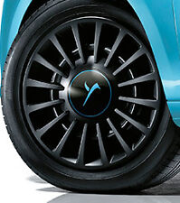 """1 copricerchio coppa ruota LANCIA YPSILON 2011> 15"""" ORIGINALE ELEFANTINO azzurro"""