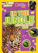 In the Jungle Sticker Activity Book, Paperback by National Geographic Society...