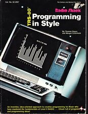TRS-80 PROGRAMMING IN STYLE- 1980