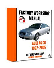 >> OFFICIAL WORKSHOP Manual Service Repair Audi A6 C5 1997 - 2005
