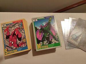 1991 MARVEL UNIVERSE SERIES 2 COMPLETE 162 CARD SET WITH  HOLOGRAM SET NM