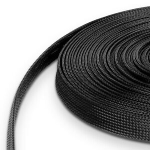 1,5€/m Gewebeschlauch 5 - 15 mm Geflechtschlauch Gewebe Schläuche Kabelschutz GS