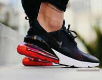 Nike Air Max 270 Oil Grey Habanero Red AH8050-013 Running Shoes Men's NEW