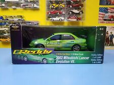 AMERICAN MUSCLE  ERTL  2002 MITSUBISHI LANCER EVO VII  HOBBY EDITION 1 OF 5000