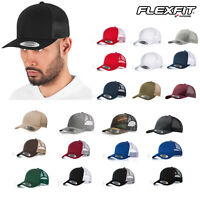 Flexfit by Yupoong Plastic Adjustable 2-tone Cap (6606) - Cotton Fabric Cap