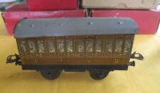 Hornby Trains - No.1 Passenger Coach in orig box , gauge o , model railway