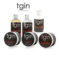 Tgin thank God it's NATURAL-Shampoo, Conditioner, Serum, Leave in Cond, & Cream