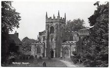 PC St Mary & St Barlok Church Norbury Nr Ashbourne Derby Derbyshire RP Mint Cond