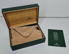 VINTAGE Rolex Watch Box100% GENUINE Rolex WATCH BOX with cushion 68.00.08