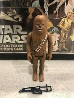 1977 Vintage Star Wars Chewbacca Original Kenner Action Figure First 12