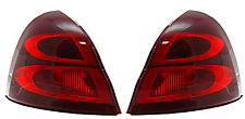 Fits 04-08 Pontiac Grand Prix Tail Lamp / Light Right & Left Set