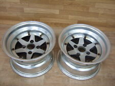 "Pair of 14"" SSR Longchamp XR4 Alloy Wheels, 8.5J, 4x114.3"