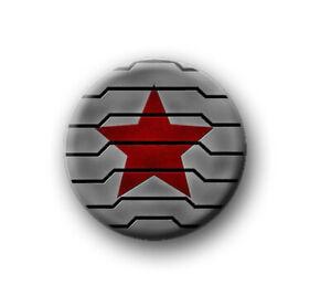 "WINTER SOLDIER 1"" / 25mm / pin button / badge / film / movie / Captain America"