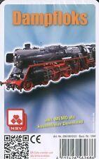 Eisenbahn-Quartett  ·  Dampfloks  ·  32 Blatt Großformat  · NEU/OVP