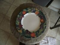 Mikasa Passion Fruit dinner plate 1 available
