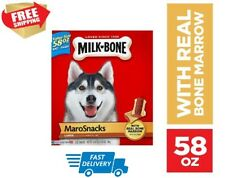 Milk-Bone MaroSnacks Dog Treats 58OZ  FREE SHIPPING IN USA