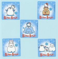 15 Hello Kitty Winter - Large Stickers - Party Favors