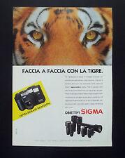 F146 - Advertising Pubblicità - 1992 - SIGMA OBIETTIVI