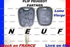 COQUE CLE PLIP PARTNER PEUGEOT TELECOMMANDE NEUF
