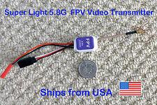 Ultra Mini Light Video Transmitter 5.8G 200mw w/ Clover Leaf Surveillance FPV