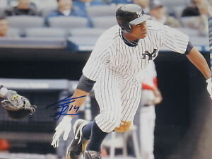 CURTIS GRANDERSON SIGNED AUTOGRAPH 8x10 NY YANKEES D