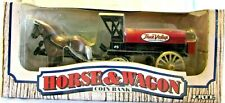 ERTL Die-cast Horse & Wagon Coin Bank True Value Hardware Stores #7624 NEW Box