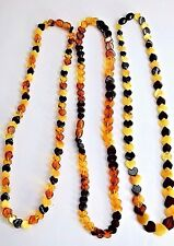 Unique Handmade Natural Mix Baltic Amber Necklace Jewellery