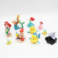 Disney Little Mermaid Figures Cake Topper Figure Lot Ursula Eric Ariel lot